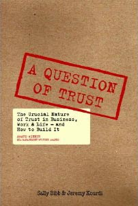 sally bibb a question of trust book cover image
