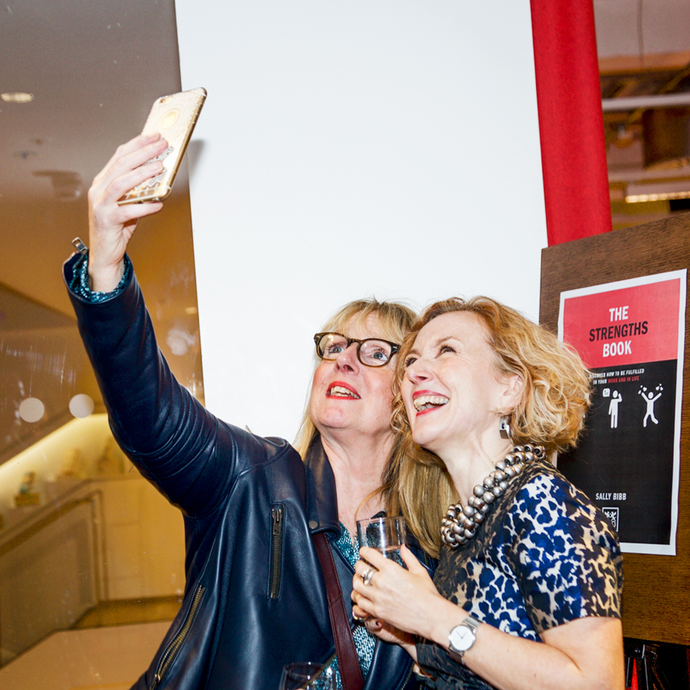 sally bibb the strengths book launch image foyles2