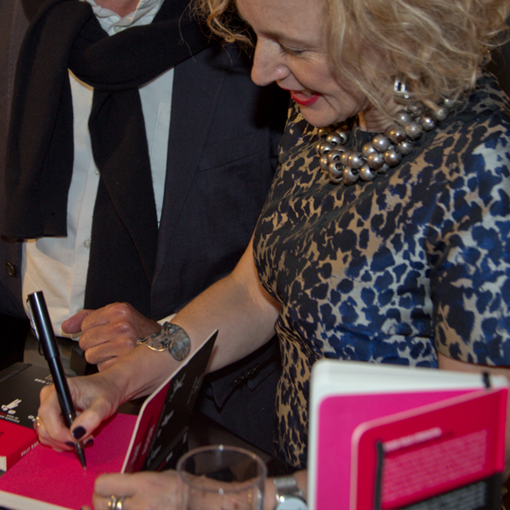 sally bibb the strengths book launch image foyles3