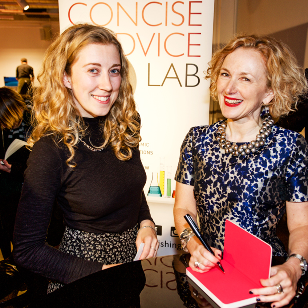 sally bibb the strengths book launch image foyles4