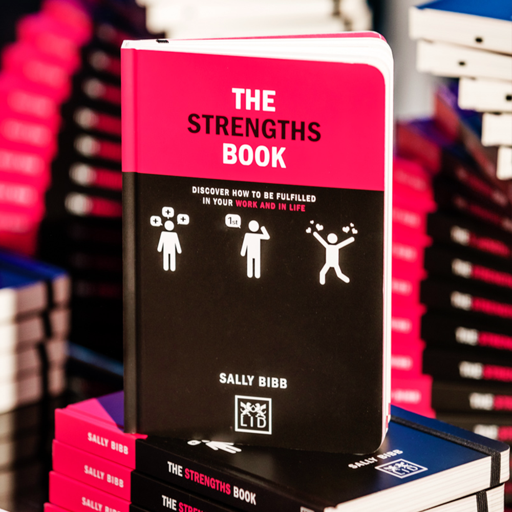 sally bibb the strengths book launch image foyles6